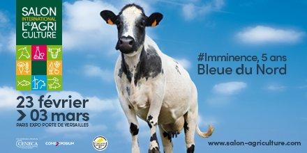 Salon de l'Agriculture 2019 – vache Imminence 5 ans, Bleu du Nord